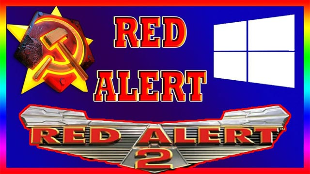 RedAlert2 to Windows 10-8